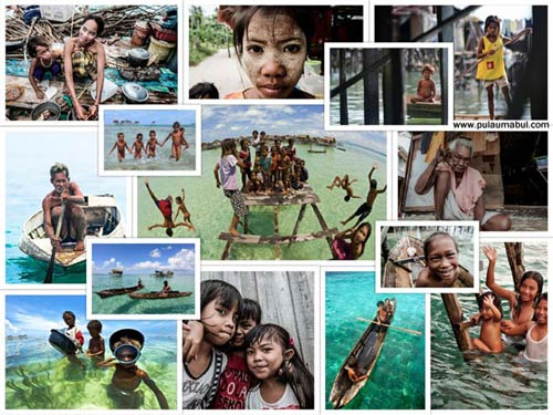 bajau laut people
