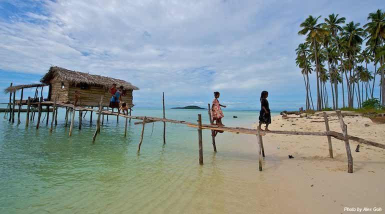 Pulau Maiga's Bajau Laut (Sea Gypsies) residents.