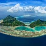 Aerial View Tun Sakaran Marine Park