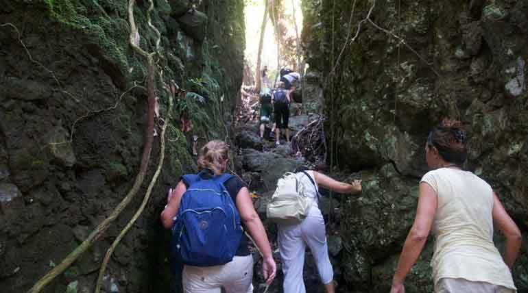 Bohey Dulang hiking trail