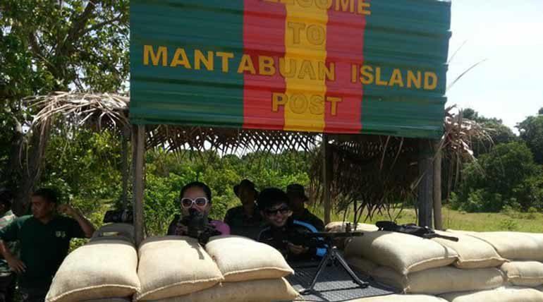Mantabuan Island Army Post